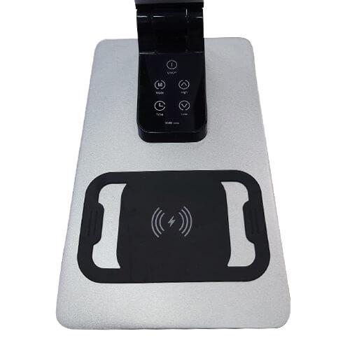תאורת לד שולחנית מתקדמת כולל מטען לנייד וחיבור USB (11)