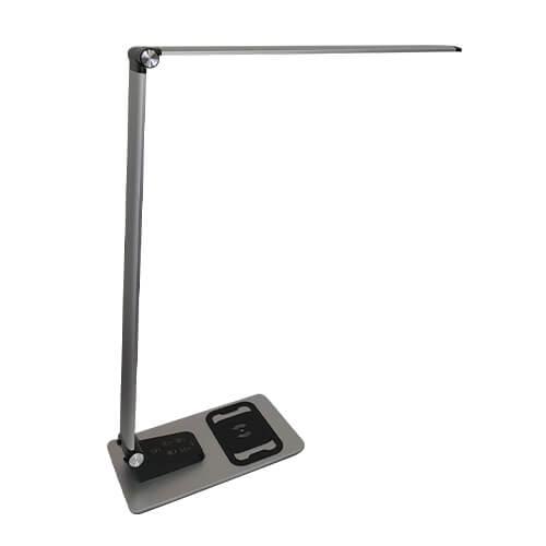 תאורת לד שולחנית מתקדמת כולל מטען לנייד וחיבור USB (3)